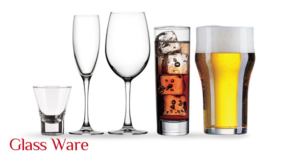 Cater Re Fit Glassware